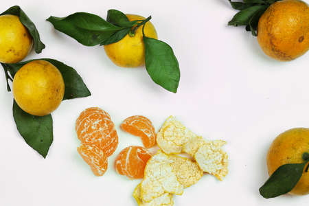 clementines: juicy mandarin citrus symbol of the new year coming holidays