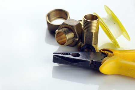 Sanitärbedarf metall starke bronze hülsenfarben für sanitärbedarf lizenzfreie