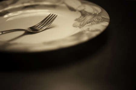 grunge flatware: the concept of food and drink preparation process of its objects and elements