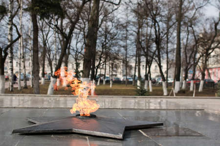 tomb of the unknown soldier: various objects of the spring season in the best of this wonderful period Stock Photo