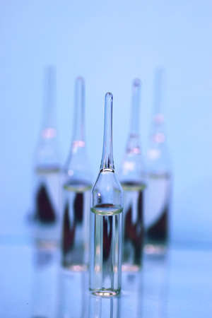 vials: medical equipment tubes and vials for injection and vaccinations
