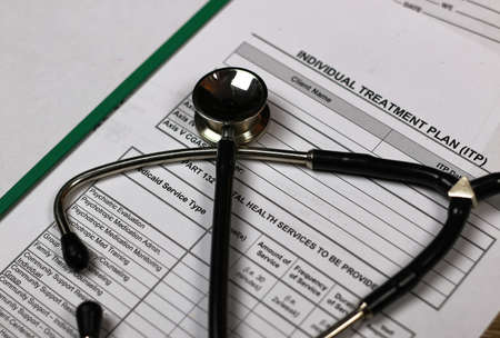 prescription recipe cardiologist stethoscope