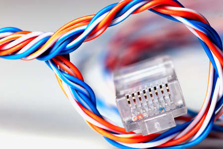 wired: plug wire color lan