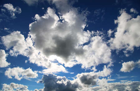 padding: cloud sky dark big Stock Photo