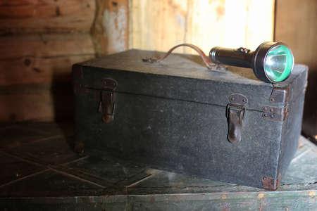 Vecchio utensile per cassetti Archivio Fotografico - 75437007