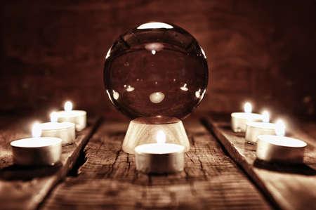 future teller candle divination