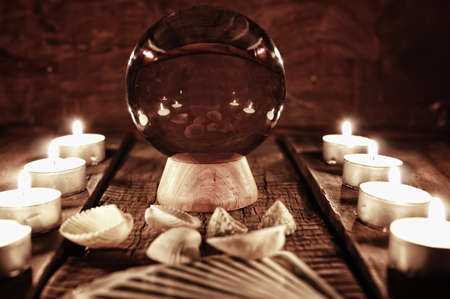 palmistry: future teller candle divination