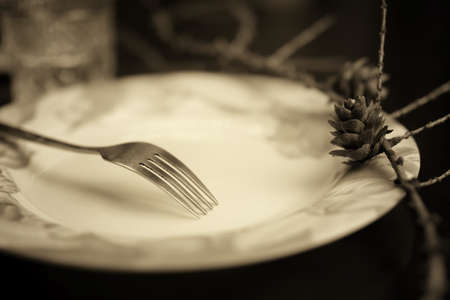 grunge cutlery: the concept of food and drink preparation process of its objects and elements