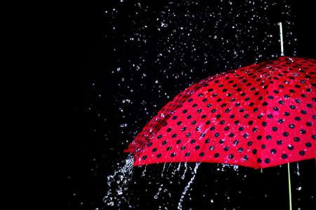 rain drop umbrella isolated