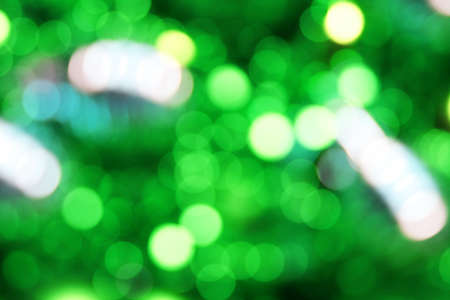 green yellow bokeh background
