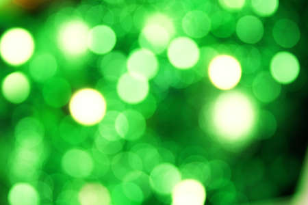 green and yellow bokeh background abstract graphic