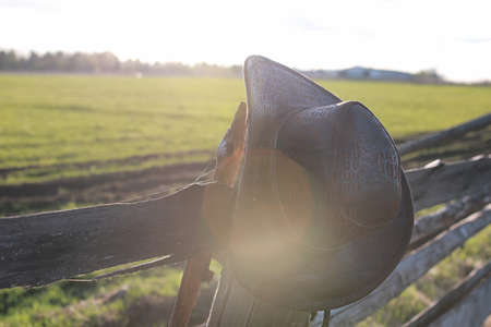 cowboy hat fence