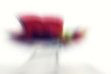 Abstract colored lines background and blurred Stock Photo