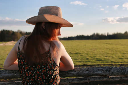 cowgirl hat nature