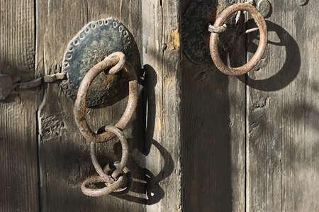 old gate in Nesebar, Bulgaria