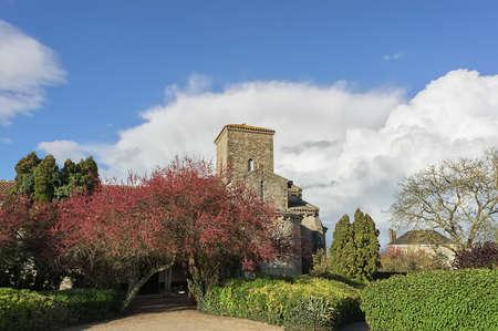 The church in Germigny des Pres, France