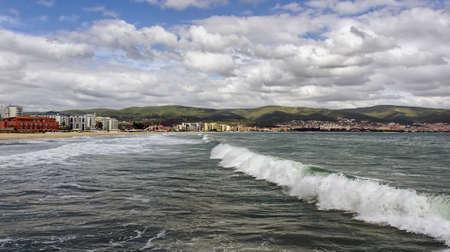 seascape, Black Sea, Sunny Beach