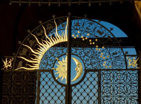 tatarstan: Gate of Soyembika tower in Kazans Kremlin, Russia Stock Photo