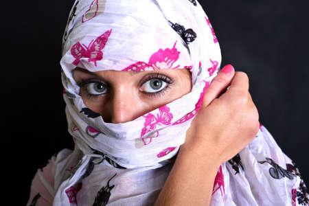 identidad cultural: Hermosa Mujer Árabe