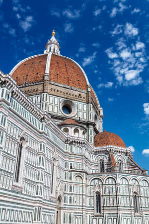 View of the Cathedral Santa Maria del Fiore. Florence. Italy