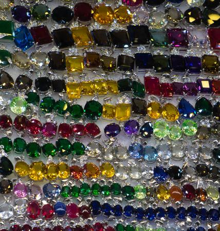bright cheap womens bijouterie, jewelry, shiny glass, background