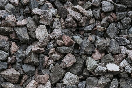 natural crushed stone texture closeup Foto de archivo