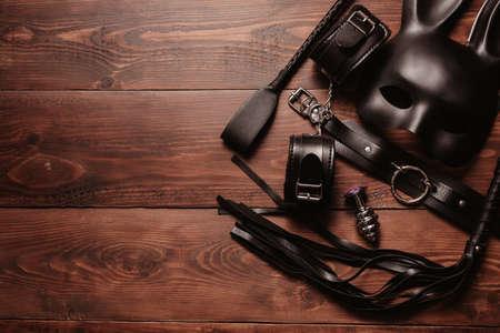 set of toys for hard BDSM