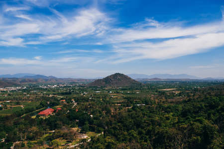 view from the top of Ta Cu mountain in Phan Thiet