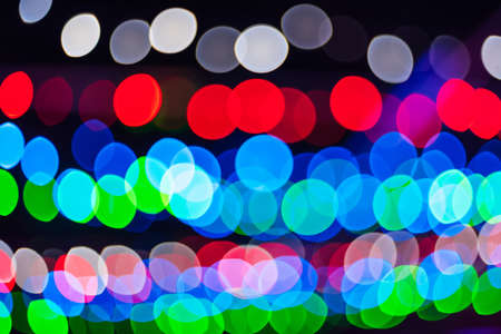 color abstract bright background with round multicolored bokeh