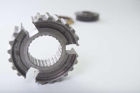 Metal gears Stock Photo