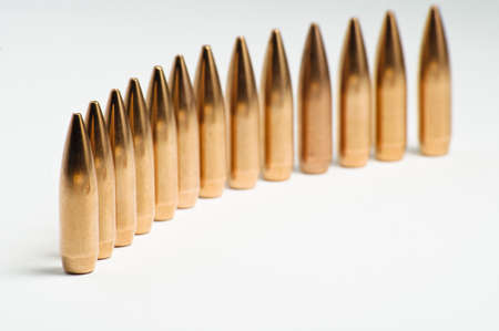Rifle bullet tips Stock Photo - 19935816