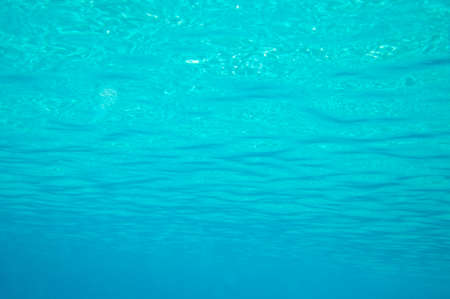 Beautiful clear underwater surface.