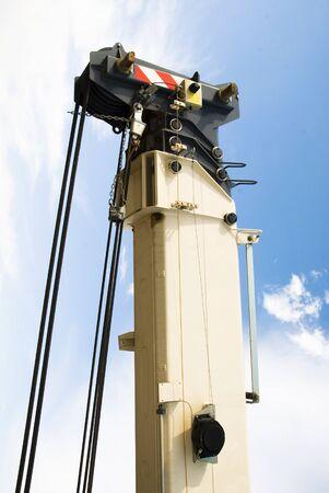 arrow of auto crane photo