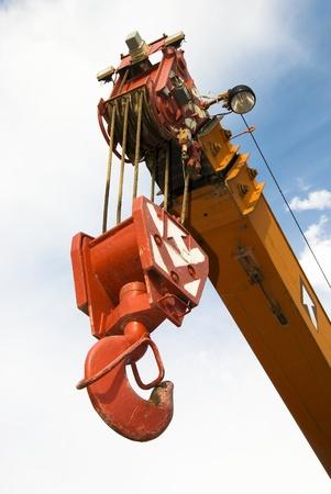 crane arrow photo