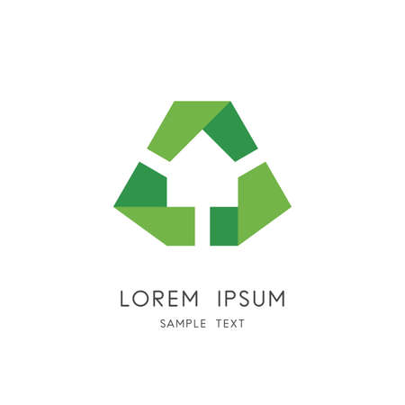 Eco home symbol