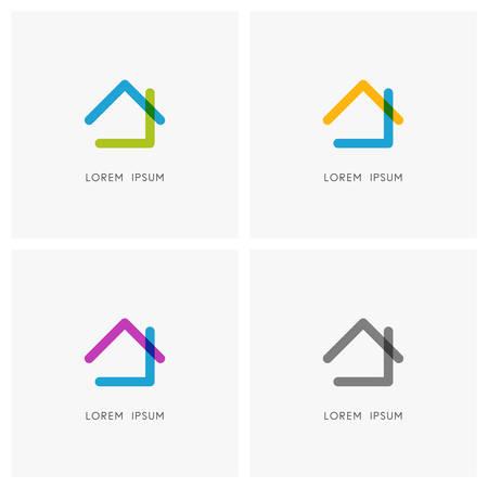 Home colored symbol set