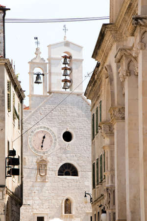 Church of Saint Barbara, now an ecclesiastical museum in old town Sibenik, Croatia
