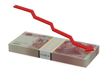 prc: falling of the Chinese yuan concept