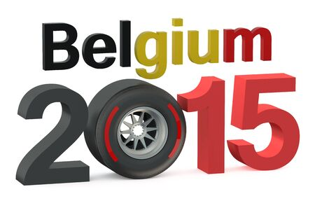 prix: F1 Formula 1 Belgium Grand Prix in Spa-Francorchamps 2015