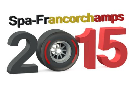 prix: F1 Formula 1 Grand Prix in Spa-Francorchamps 2015  Belgium