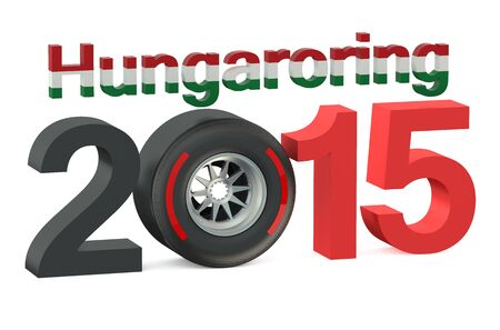 bolide: F1 Formula 1 Grand Prix in Hungaroring 2015 Hungary