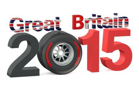 bolide: F1 Formula 1 Great Britain Grand Prix in Silverstone 2015