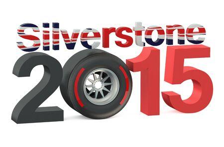 f1: F1 Formula 1 Silverstone 2015 concept Stock Photo