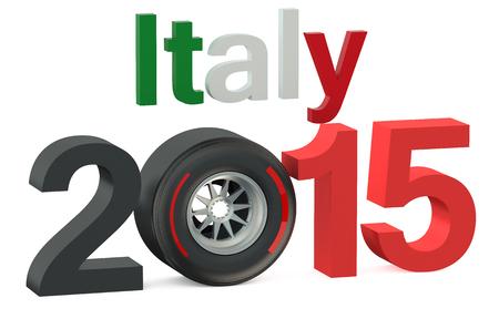 prix: F1 Formula 1 Italy Grand Prix in Monza 2015 concept