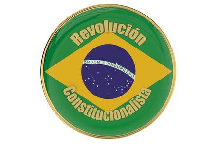 9th: Constitutionalist Revolution in Brazil concept