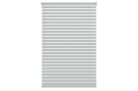 blinds: white plastic blinds isolated on white background