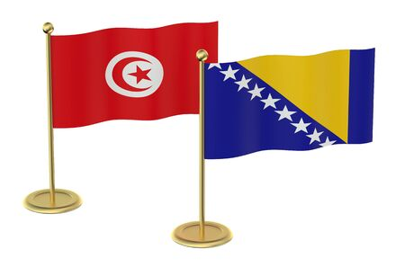 industrialized country: meeting Turkey and Bosnia and Herzegovina concept