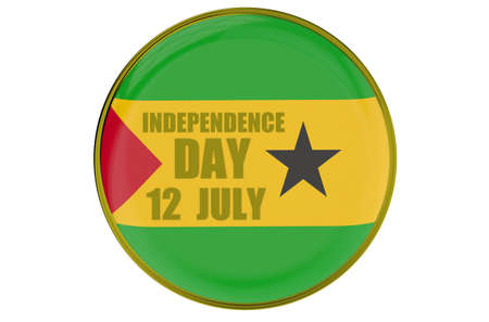 tome: Sao Tome and Principe Independence Day, concept