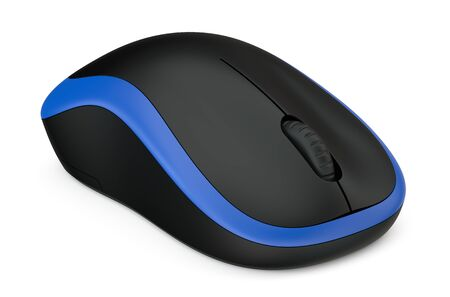 closeup: Computer Mouse isolated on white background