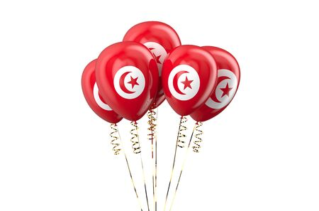 declaration of independence: Tunisia patriotic balloons